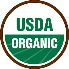certified USDA organic label