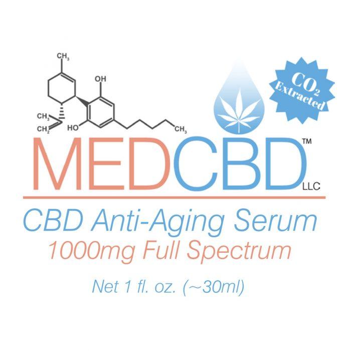 CBD anti aging serum skin