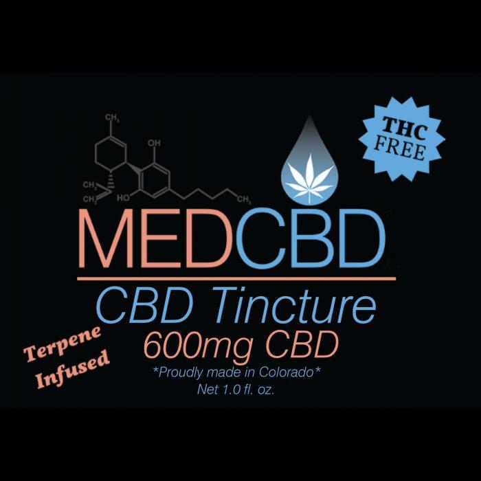 CBD isolate tincture