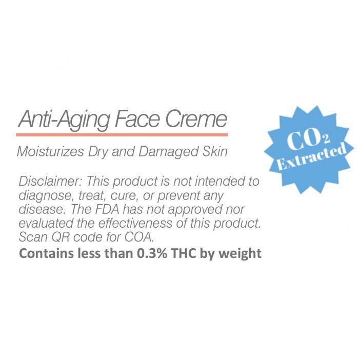 CBD face cream aloe vera