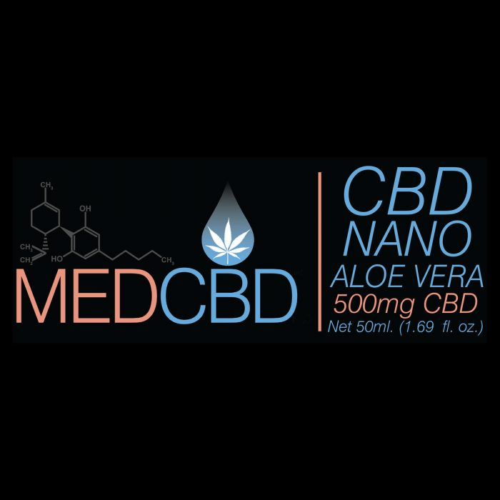 cbd aloe vera cream 500mg isolate