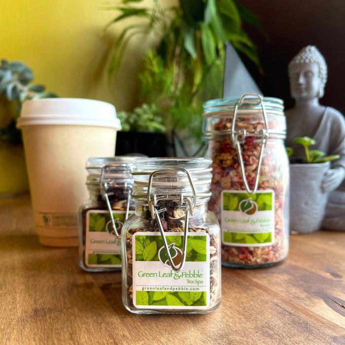 loose leaf tea container sizes