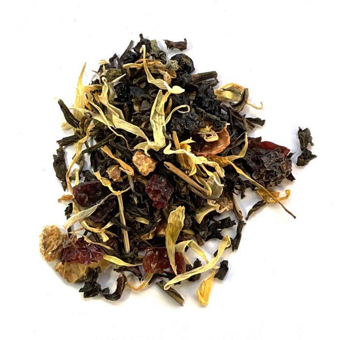 peachy keen green tea organic